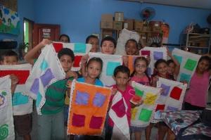 2-Formación niños centro Paso a Paso Honduras